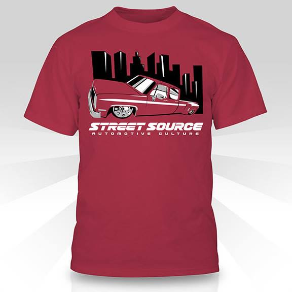 SS Dually Red T-Shirt
